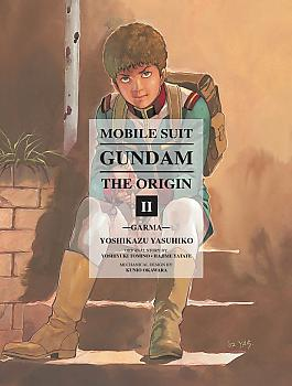Mobile Suit The Origin Manga Vol.  2 Gundam - Garma