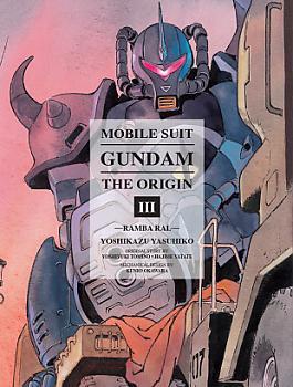 Mobile Suit The Origin Manga Vol.  3 Gundam - Ramba Ral