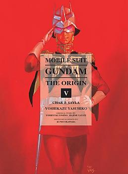 Mobile Suit The Origin Manga Vol.  5 Gundam - Char & Sayla
