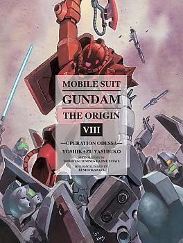 Mobile Suit The Origin Manga Vol.  8 Gundam - Operation Odessa