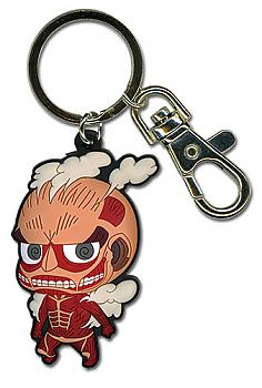 Attack on Titan Key Chain - SD Colossal Titan