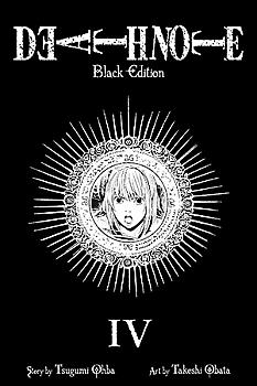 Death Note Black Edition Manga Vol.   4