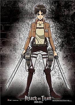 Attack on Titan Wall Scroll - Eren Pose