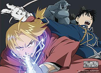 FullMetal Alchemist Brotherhood Wall Scroll - Alchemist [LONG]