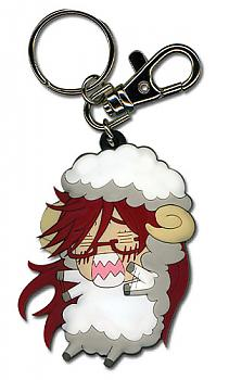 Black Butler Key Chain - Grell Sheep