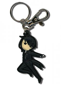 Black Butler Key Chain - Sebastian Jumping