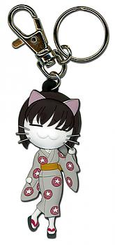 Black Cat Key Chain - Saya Cat Form