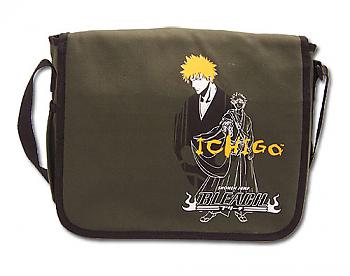 Bleach Messenger Bag - Ichigo Line Art and Portrait