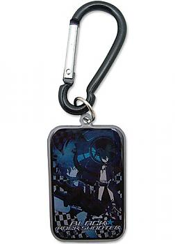 Black Rock Shooter Key Chain - Black Rock Rectangle