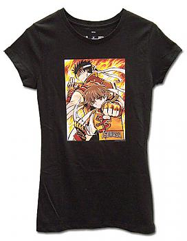 Tsubasa T-Shirt - Syaoran & Kurogane (Junior XL)