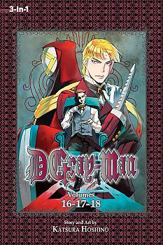 D Gray-man Omnibus Manga Vol. 6 (3-in-1 Edition)
