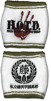 High School of the Dead Sweatband - Logo