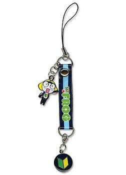 Sgt. Frog Phone Charm - Tamama Metal Strap with Crest