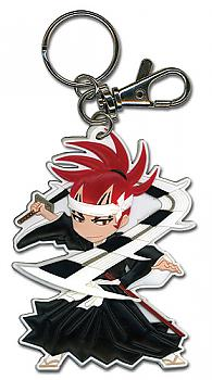 Bleach Key Chain - Renji and Zabimaru Battle Ready