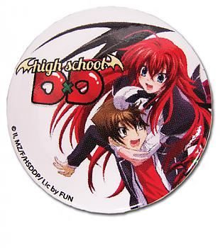 High School DxD 1.25'' Button - Issei & Rias