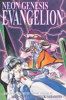 Neon Genesis Evangelion 3-in-1 Edition Manga Vol.   1