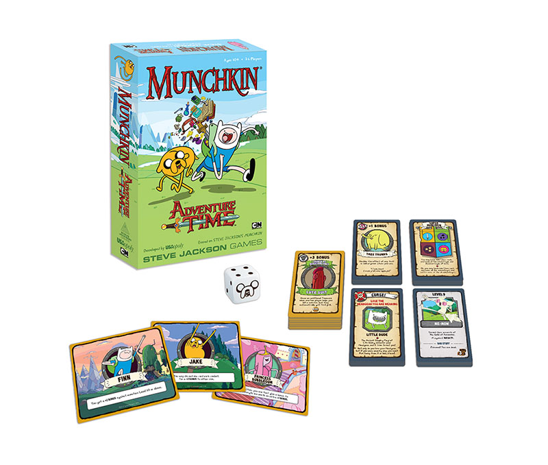 Adventure Time Board Games - Munchkin Collector\'s Edition @Archonia_US