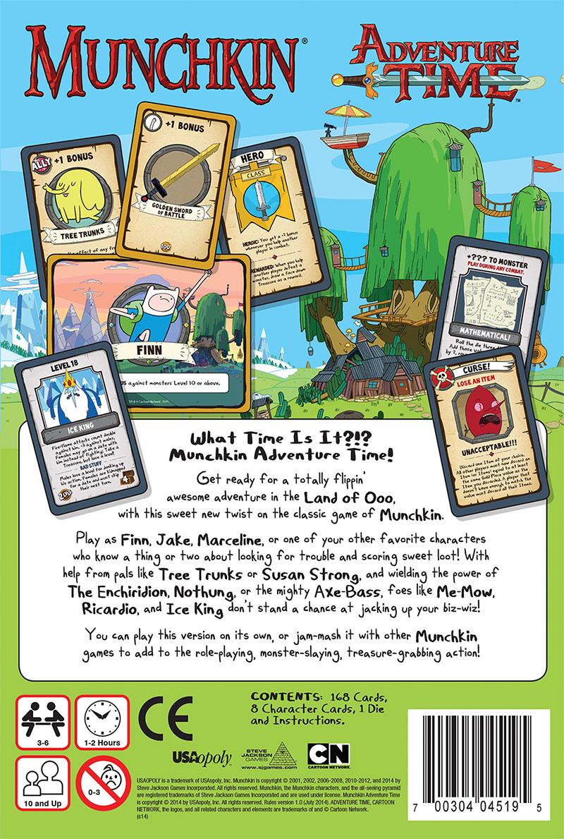 Adventure Time Board Games - Munchkin Collector\'s Edition @Archonia_US