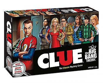 Big Bang Theory Board Games - Clue Collector's Edition