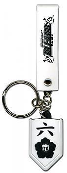 Bleach Key Chain - 06th Division Six Byakuya Kuchiki Symbol