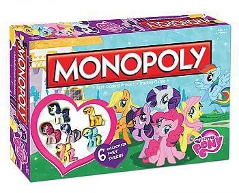 My Little Pony Board Games - Monopoly Collector's Edition
