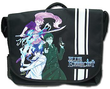 Blue Excorcist Messenger Bag - Group