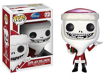 Nightmare Before Christmas POP! Vinyl Figure - Santa Jack Skellington