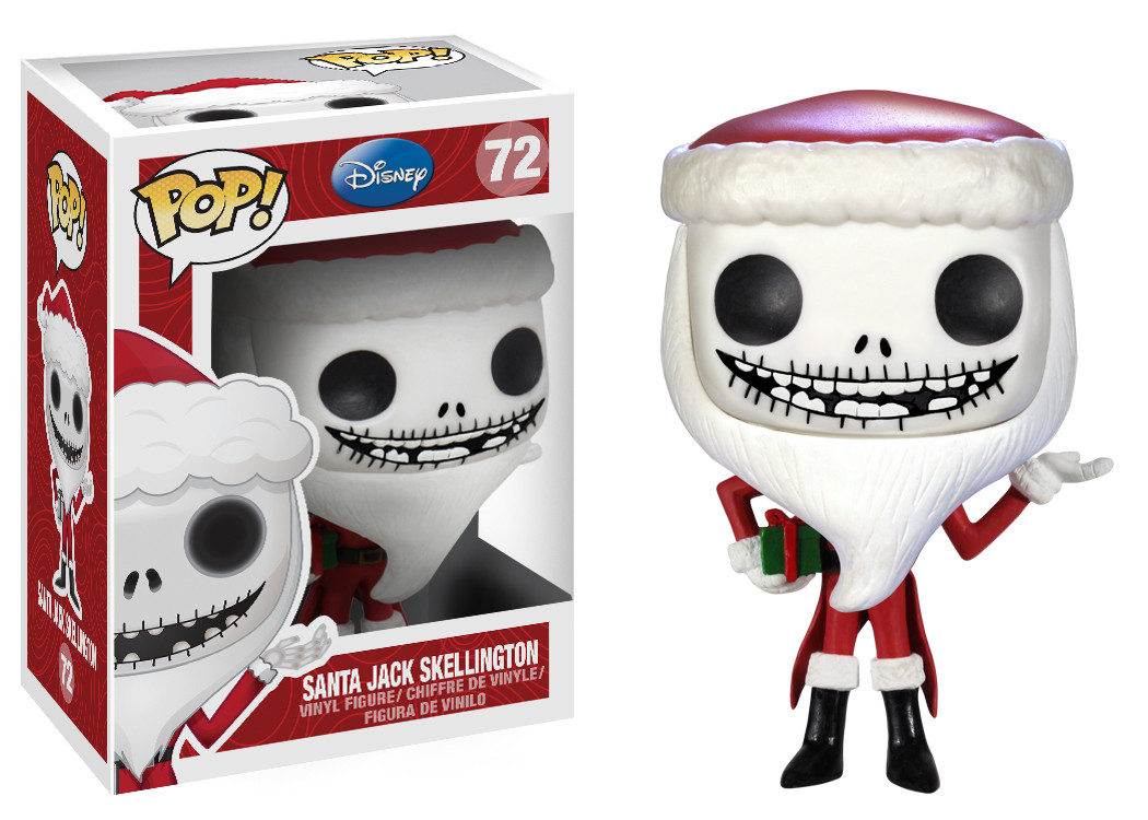 Nightmare Before Christmas POP! Vinyl Figure - Santa Jack ...