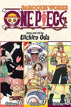 One Piece Omnibus Manga Vol.    6 Baroque Works (Vol. 16-17-18)
