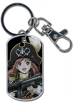 Bodacious Space Pirates Key Chain - Marika