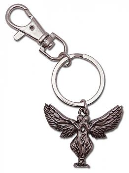 Claymore Key Chain - Metal Twin Goddess