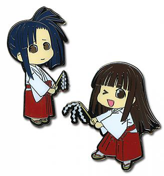 Negima Pins - Konoka and Setsuna (Set of 2)