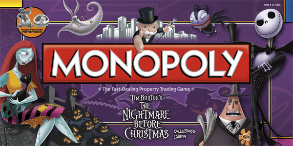 nightmare before christmas board games - The Nightmare Before Christmas Games