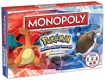 Pokemon Board Games - Monopoly Collector's Edition