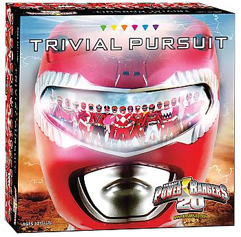 Power Rangers Board Games - Trivial Pursuit Collector's Edition