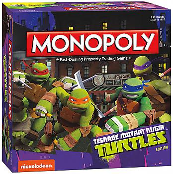 Teenage Mutant Ninja Turtles Board Games - Monopoly Collector's Edition (Cartoon)