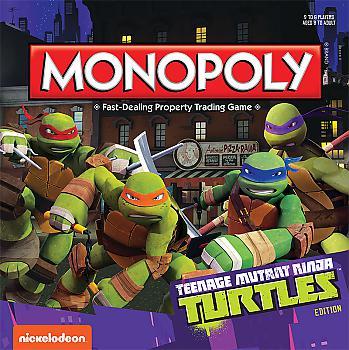 Teenage Mutant Ninja Turtles Board Games - Monopoly Collector's Edition (Cartoon)