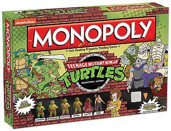 Teenage Mutant Ninja Turtles Board Games - Monopoly Collector's Edition (Retro)