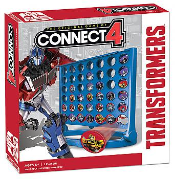 Transformers Board Games - Connect 4 Collector's Edition