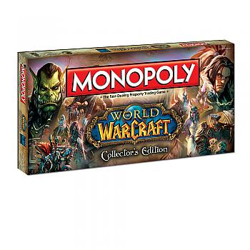 World of Warcraft Board Games - Monopoly Collector's Edition