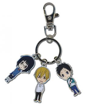 Durarara!! Key Chain - Mikado, Masaomi, and Anri