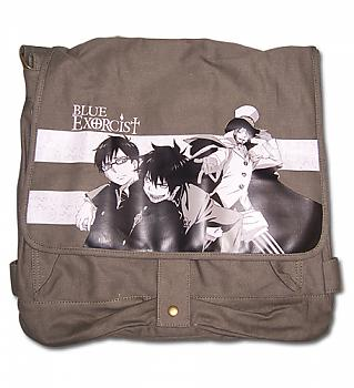 Blue Excorcist Messenger Bag - Rin, Yukio and Mephisto