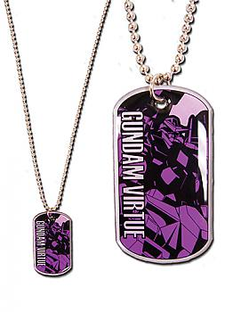 Gundam 00 Necklace - Virtue Dogtag