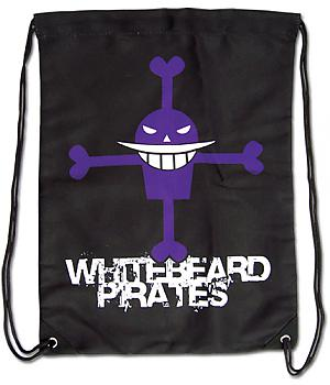 One Piece Drawstring Backpack - Whitebeard Jolly Roger