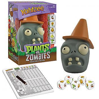Plants vs. Zombies Board Games - Yahtzee Collector's Edition (Conehead Zombie)