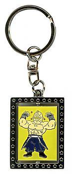 Fullmetal Alchemist Key Chain - Metal Armstrong Portrait