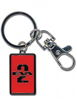 Evangelion Key Chain - Unit 02