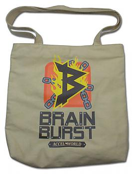 Accel World Tote Bag - Brain Burst Icon