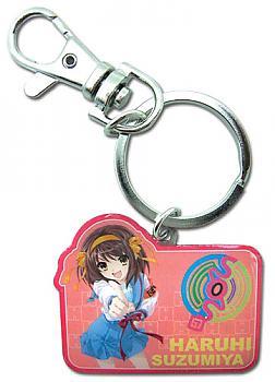 Haruhi 2 Key Chain - Haruhi in Uniform