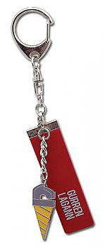 Gurren Lagann Key Chain - Core Drill